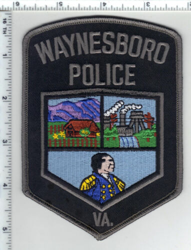 Waynesboro Police (Virginia) 3rd Issue Shoulder Patch