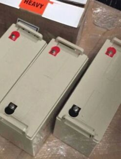 160a 12 v battery deep cycle AGM Solar Batteries Lane Cove West Lane Cove Area Preview