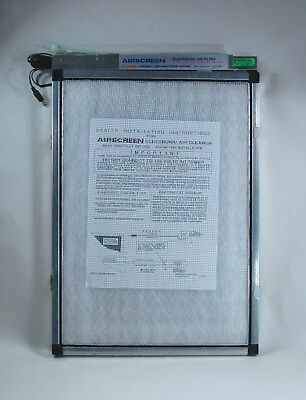 CIMATIC AIRSCREEN ELECTRONIC AIR FILTER, MODEL 1000/2000, SIZE 14