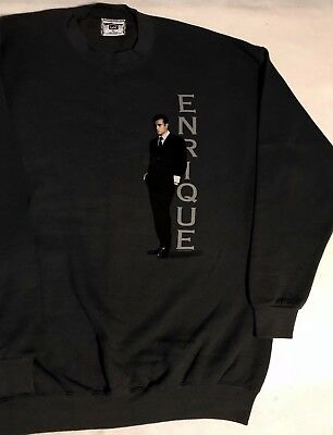 New ENRIQUE IGLESIAS Long Sleeve Sweatshirt XL