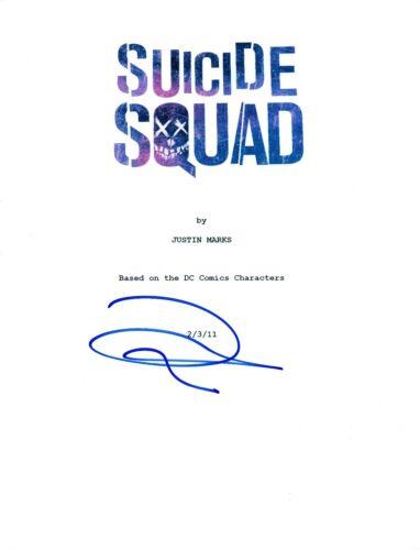 Joel Kinnaman Signed Autographed SUICIDE SQUAD Full Movie Script COA