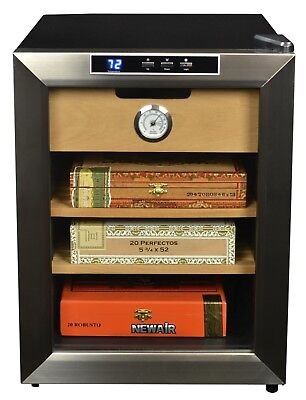 Cigar Humidor Cigars Cooler Best Thermoelectric Humidors Cabinet Newair