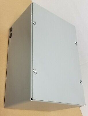 Hubbell-wiegmann Enclosure 12x8x6 In Hxwxd Sc081206nk Electrical Box
