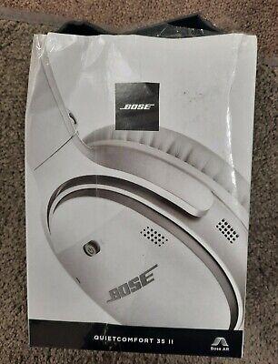 Brand New Bose QuietComfort 35 II Silver Over the Ear Headphone *DAMAGED BOX
