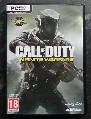 CALL OF DUTY - INFINITE WARFARE - PC DVD Disc Set, New & Unused - GAMING.