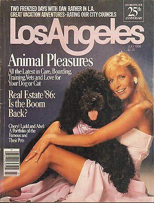 July 1986   Los Angeles Local News Magazine Cheryl Ladd
