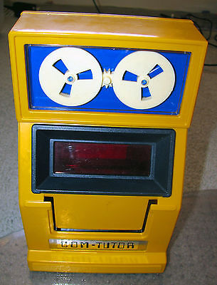 COM - TUTOR [Vintage Battery Operated Electronic Educational Game] Learning Aid