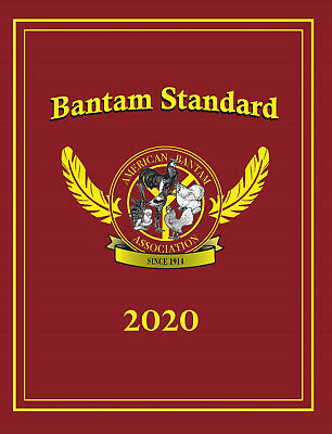 2020 American Bantam Association Bantam Mini Standard Pocket Sized