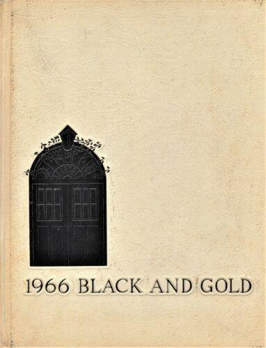 "1966 ""Black & Gold"" Yearbook - R. J. Reynolds High School - Winston-Salem, NC"