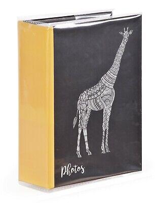 Zen Giraffe 6'' x 4'' Slipin Photo Album Holds 120 Photos Photography Storage