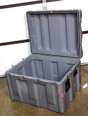 Hardigg Pelican 345x28x24 Truck Trunk Hard Case Shipping Container Single Lid
