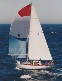 SOUTHERLY DESIGNED BY CHARLIE PEEL BUILT 1939 35' HUON PINE SLOOP