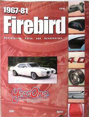 FIREBIRD Restoration Parts and Accessories 1967-81 Book/Manual Year One >SEALED