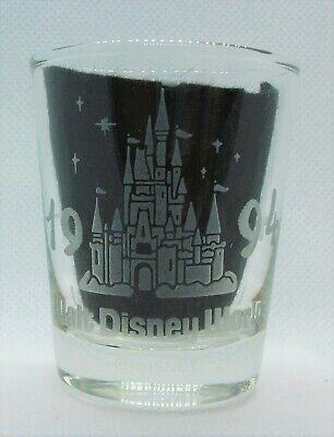 Walt Disney World 1994 shot glass NICE