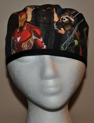 Men's Marvel Superhero/Avengers Infinity War Scrub Cap/Hat - One size fits most - Superhero Uniforms