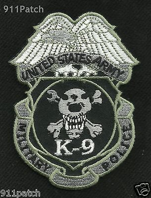 Military Police K9 United States Army Law Enforcement Canine Unit Shield Patch