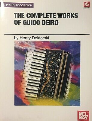 Complete Works for Accordion by Guido Deiro Music Book Complete Works Music Book