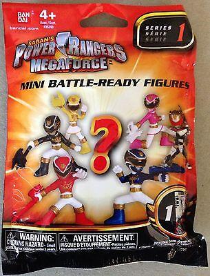 Power Rangers Megaforce Mini Battle Series 1 Figure NIP SILVER ROBO KNIGHT