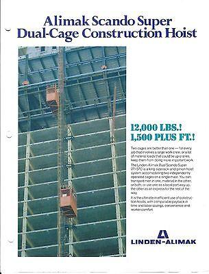 Equipment Brochure - Scando - 2737 C Construction Hoist Lift - 3 Item E3417