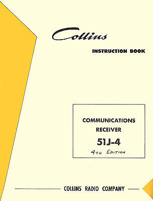 Collins 51J-4 Receiver 51J4 Operation & Repair Manual