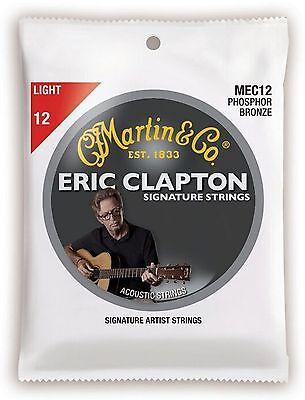 MARTIN GITARRENSAITEN für Akustikgitarre, CLAPTON´S CHOICE, light 012-054-