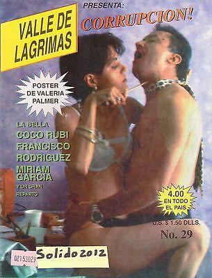 FOTONOVELA MEXICO, VALLE DE LAGRIMAS, COCO RUBI, FRANCISCO RODRIGUEZ, TV NOTAS