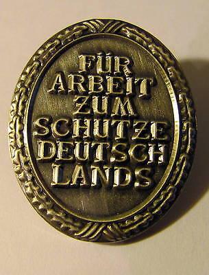 PIN Für Arbeit zum Schutze Deutschlands ***P-331*** NEU! NEU!