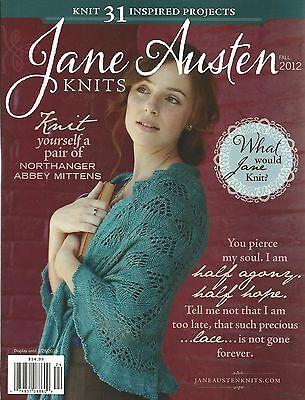 Jane Austen Knits Magazine Knitting Instruction Pattern 31 Project Fall 2012 NEW - Fall Projects