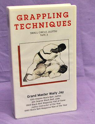 Grappling Techniques Small Circle Jujitsu tape 3 - Wally Jay - vhs
