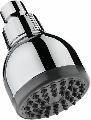 TurboSpa 3 Inch High Pressure Shower Head w/Flow Restrictor