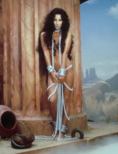 CHER - PHOTO #C-103 - WITH CHASTITY