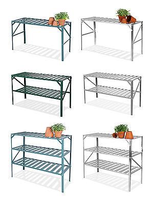 Lacewing Greenhouse Staging Shelving Shelves Bench Aluminium Metal Storage Shelf