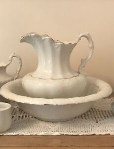 Antique jug and bowl