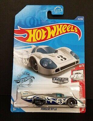 2020 Hot Wheels ZAMAC 006 PORSCHE 917 LH #3 ~ Box Ship Free