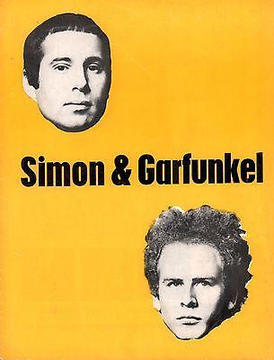 SIMON & GARFUNKEL 1967 PARSLEY, SAGE, ROSEMARY & THYME U.K. TOUR PROGRAM BOOK