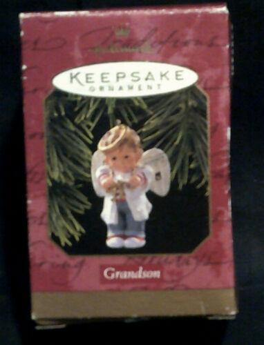 Vintage Hallmark Keepsake Grandson ornement 1997 new in box