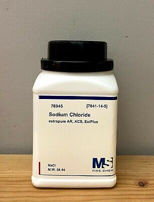 Sodium Chloride Crystals Acs 99 Certified 500 Grams Nacl