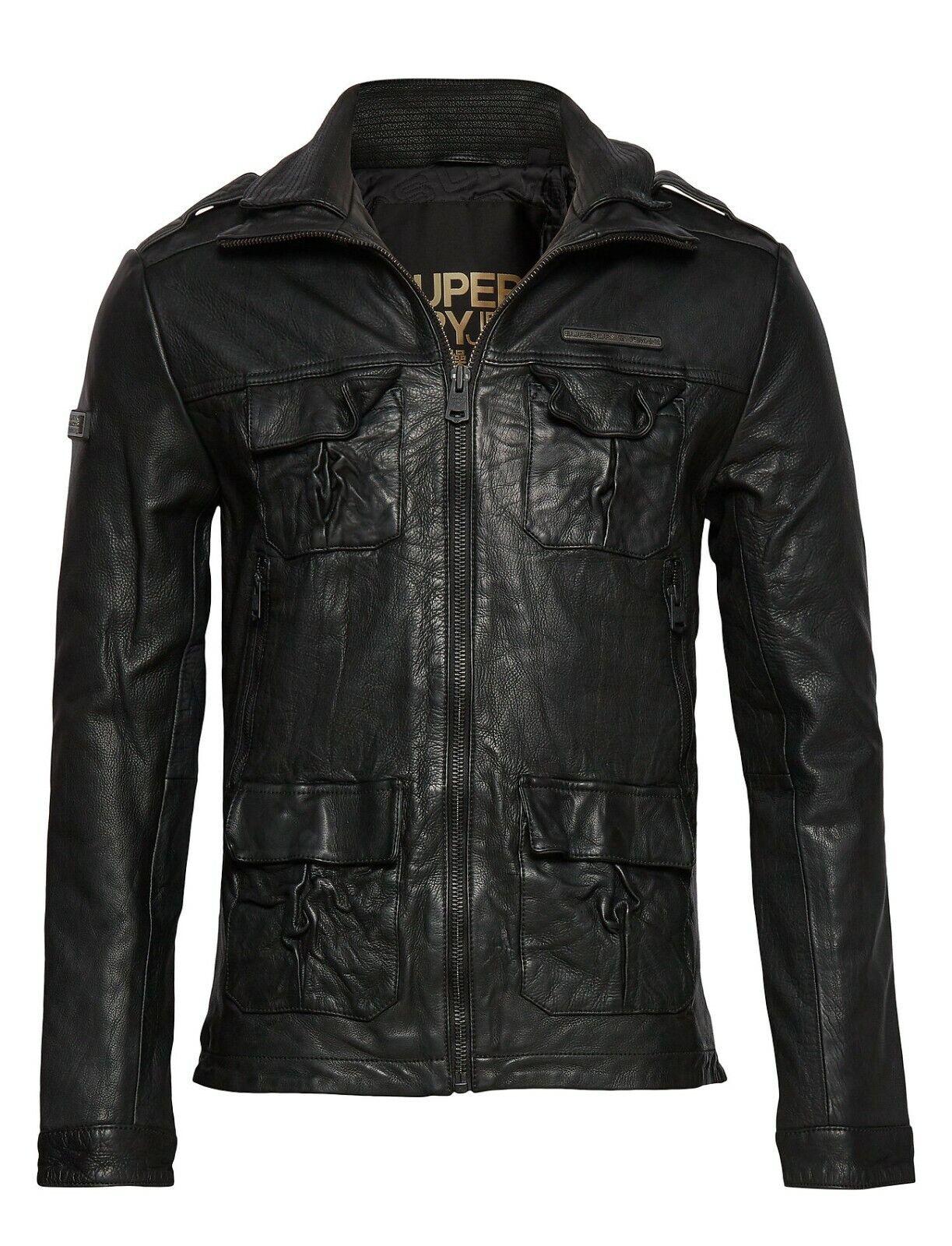 Affliction Womens Black Horn Jacket Large
