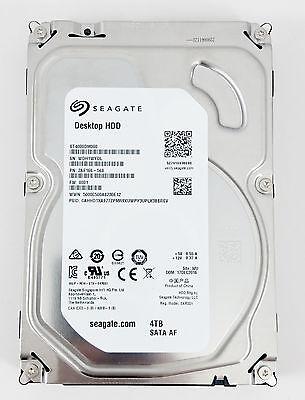 """Seagate Desktop ST4000DM000 4 TB 5900RPM 3.5"""" SATA Hard Drive 6.0Gb/s"""