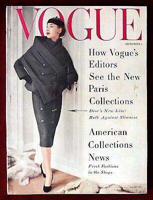 Vogue Magazine ~ September 1, 1955 ~ Henry Clarke Anne St Marie Horst Penn