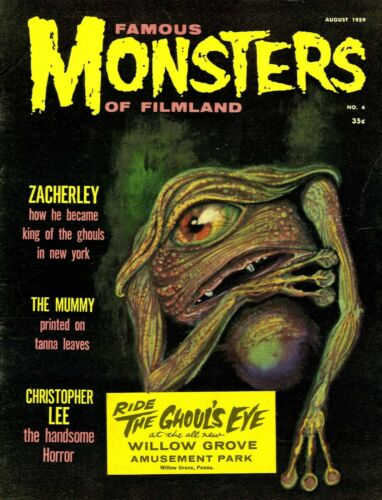 Famous Monsters of Filmland #4 Photocopy REPLICA Magazine, Ghoul