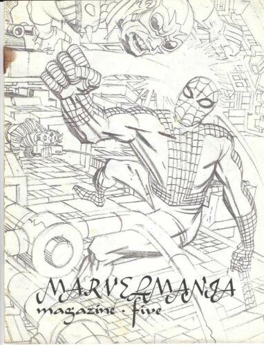 Vintage Marvelmania #5 Marvel Magazine 1970 Spider-Man Silver Surfer Kirby Art