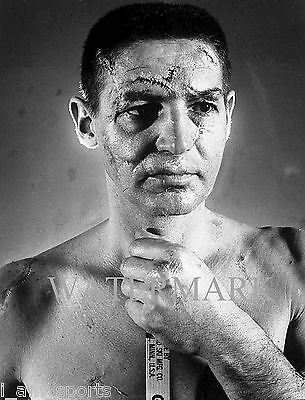 TERRY SAWCHUK FACE STiTCHES NO MASK VINTAGE GOALIE 8x10 GLOSSY PHOTO