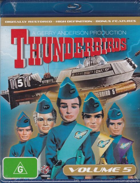 THUNDERBIRDS VOLUME 5 - Sylvia Anderson, Ray Barrett, Peter Dyneley - BLU-RAY