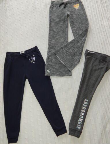 ABERCROMBIE & FITCH ― Girls M (11/12) ― Lot of 3 Sweatpants/Lounge Pants ― #AK16