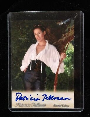 Patricia Tallman TRADING CARD Signed AUTOGRAPHED COA Babylon 5