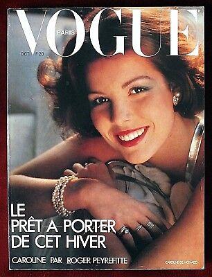 Vogue Paris ~ #580 October 1977 ~ Caroline De Monaco Helmut Newton Patti Hansen