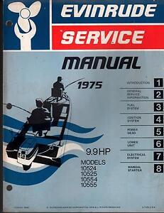 evinrude 9.9 outboard motor manual