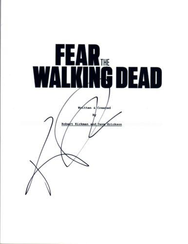 Kim Dickens Signed Autographed FEAR THE WALKING DEAD Pilot Episode Script COA VD