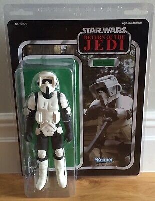Star Wars Vintage Style Gentle Giant Jumbo Biker Scout 2015 New Sealed
